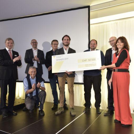 Winner W.A. De Vigier Startup Award 2019